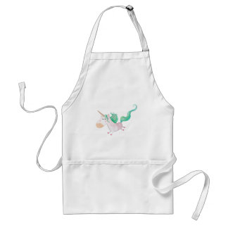 Unicorns are Magical Adult Apron