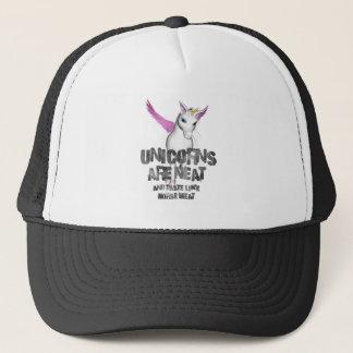 Unicorns Are Neat And Taste Like Horsemeat - Color Trucker Hat