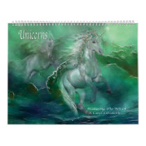 Unicorns Art Calendar
