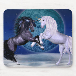 Unicorns Battle Mouse Pad