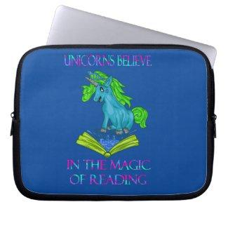 Unicorns Believe In The Magic Book Sleeve