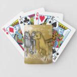 Unicorns Bicycle Poker Cards