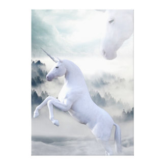 Unicorns Canvas Print