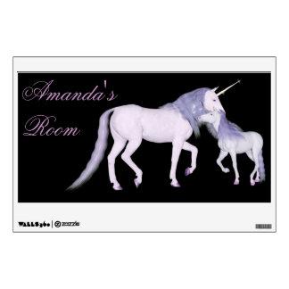 unicorn wall decals wall stickers zazzle
