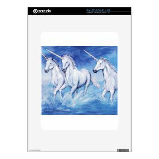 unicorns decal for the iPad
