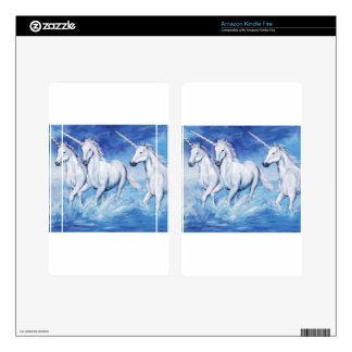 unicorns decals for kindle fire