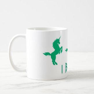 Unicorns I Believe Coffee Mug