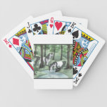 Unicorns in Forest Bicycle Poker Deck