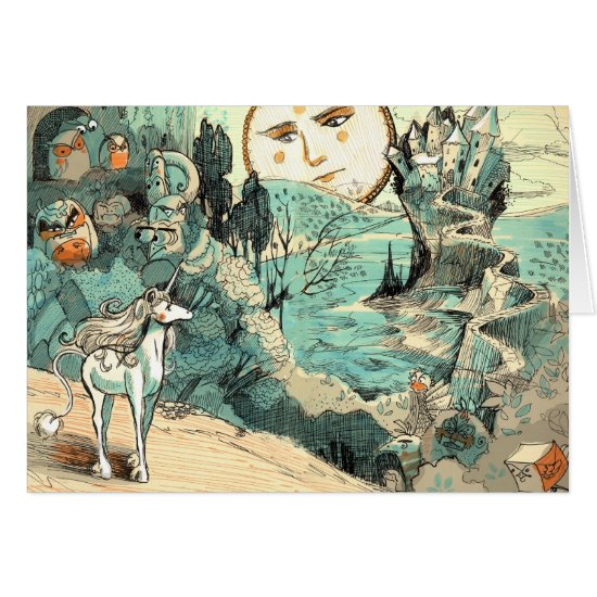 Unicorn's Journey Greeting Cards