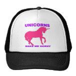 unicorns make me horny trucker hat