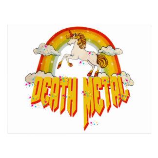 Unicorns of Death Metal Postcard