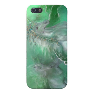 Unicorns Of The Sea Art Case for iPhone 4