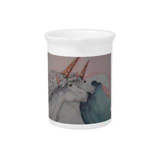 Unicorns of the sea drink pitchers