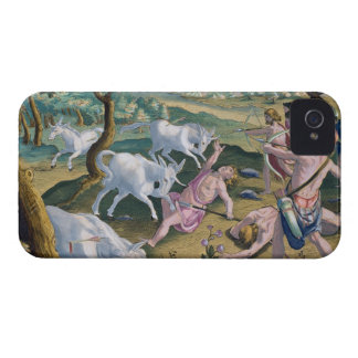 Unicorns on the Banks of the Indus, Hunted by Perm iPhone 4 Cover
