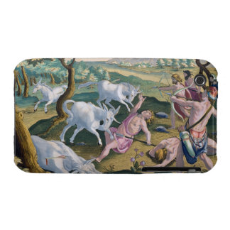 Unicorns on the Banks of the Indus, Hunted by Perm iPhone 3 Case-Mate Case