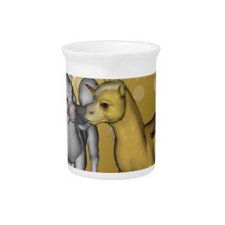 Unicorns Drink Pitcher