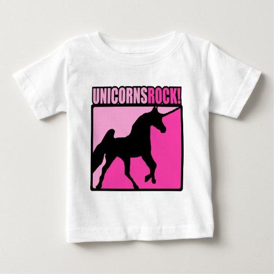 Unicorns Rock #3 Baby T-Shirt