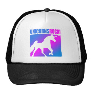 Unicorns Rock 4 Hats