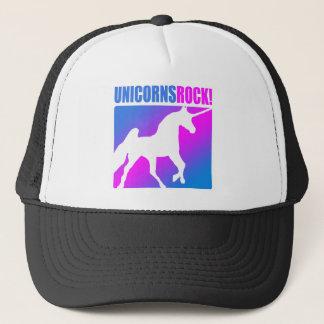 Unicorns Rock #4 Trucker Hat