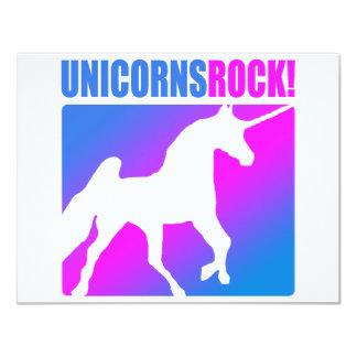 Unicorns Rock! Card