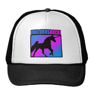 Unicorns Rock! Trucker Hat