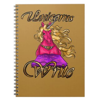 Unicorns Write Notebook