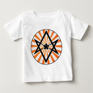 Unicursal Hexagram Orange Sunburst Shirt