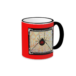 Unicursal Hexagram Redback Mug