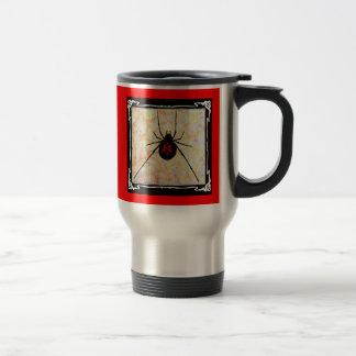 Unicursal hexagram Redback Travel/Commuter Mug