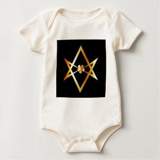 Unicursal hexagram symbol bodysuit