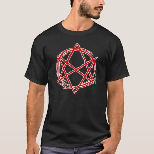 Unicursical Hexagram2 dark T-Shirt