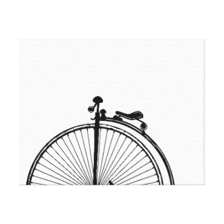 UNICYCLE ART PRINT - ONE OF A UNICYCLE COLLAGE