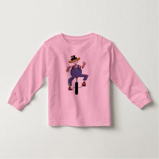 Unicycle Circus Clown T Shirt