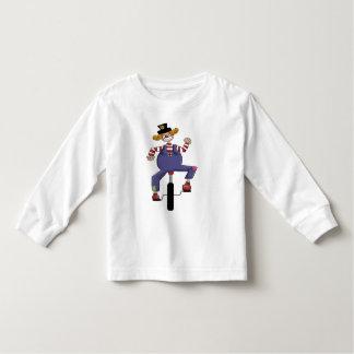Unicycle Circus Clown T-shirt