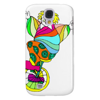 Unicycle Clown Galaxy S4 Cover
