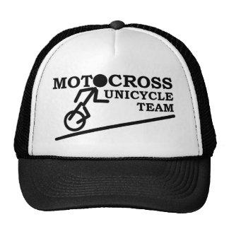 Unicycle Dirt Bike Motocross Cap Hat