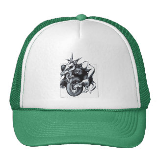 Unicycle draconiano biomecánico gorra