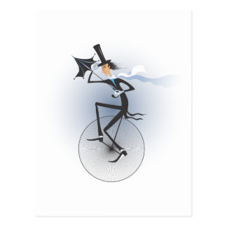 Unicycle Postcards