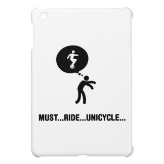 Unicycle Riding iPad Mini Covers