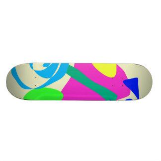 Unicycle Skateboard Deck