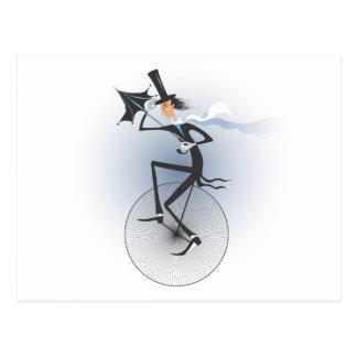 Unicycle Tarjetas Postales