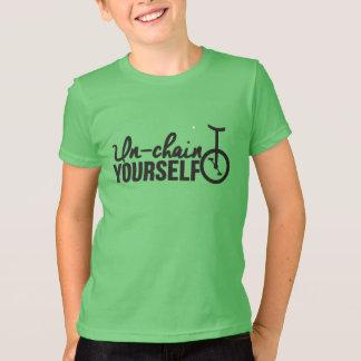 Unicycle | Unchain yourself T-Shirt