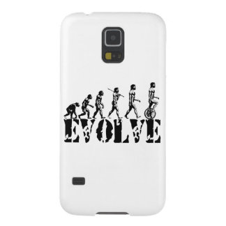 Unicycle Unicycling Sport Evolution Art Galaxy S5 Cases