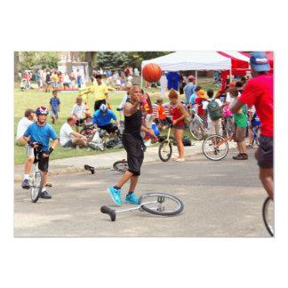 Unicyclist - Basketball - Street rules Card