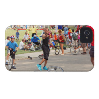 Unicyclist - Basketball - Street rules iPhone 4 Case-Mate Cases