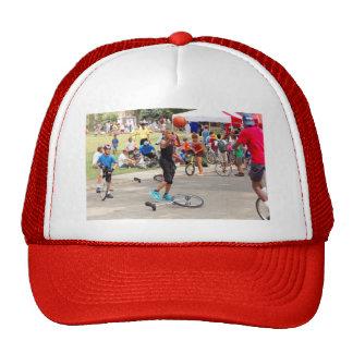 Unicyclist - Basketball - Street rules Trucker Hat
