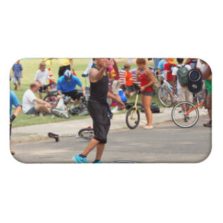 Unicyclist - Basketball - Street rules Cover For iPhone 4