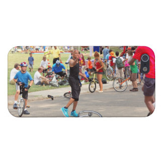 Unicyclist - Basketball - Street rules iPhone 5/5S Cover