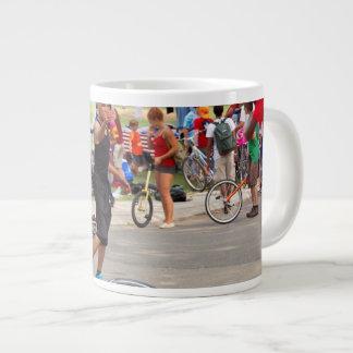 Unicyclist - Basketball - Street rules 20 Oz Large Ceramic Coffee Mug