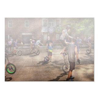 Unicyclist - Unicycle training camp Card